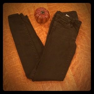 Black skinny jeans by Bull Head size 00